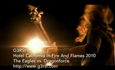 Hotel California In Fire And Flames
